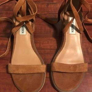 Steve Madden Nude/Tan Heeled Sandals